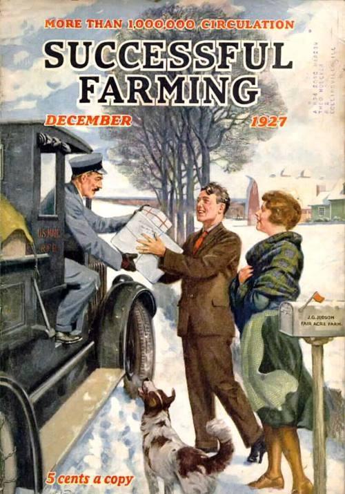 **cover of Successful Farming.
