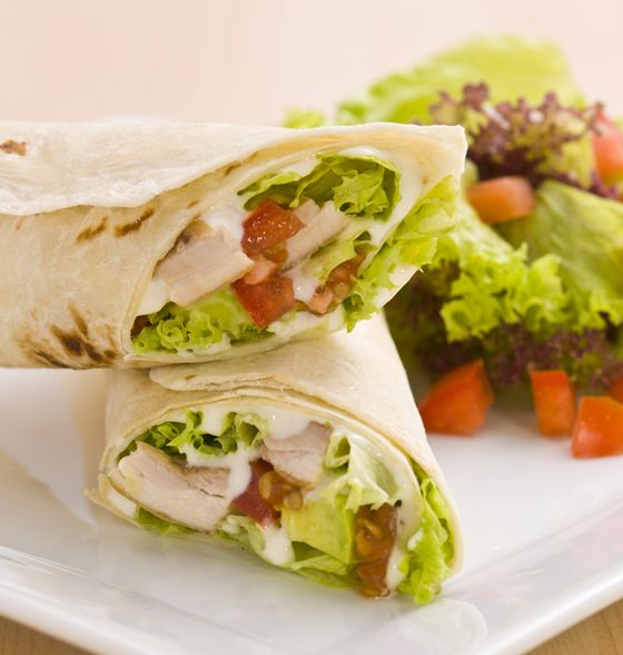 Maxines Burn : Chicken & Avocado Wrap