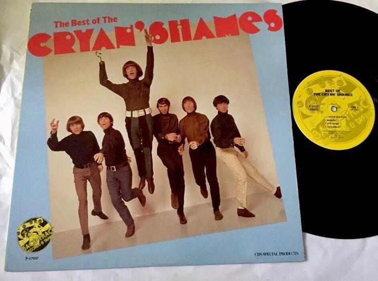 Lp The Cryan Shames Best Of Vinyl 60s Rock Psyche Pop EXC  #RockRoll