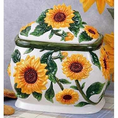 28 Best Images About Sunflower Kitchen Decor On
