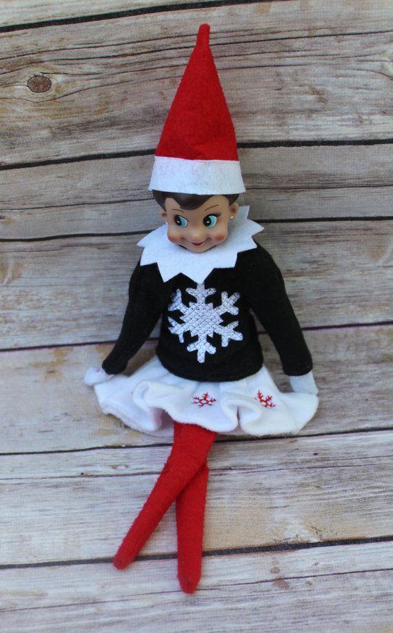 Customelf On The Shelf Sweater Elf On The Shelf Elf On The Shelf