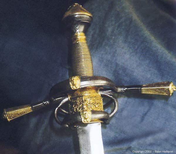 Sword of Gustav Vasa, King of Sweden (r. 1523-1560).