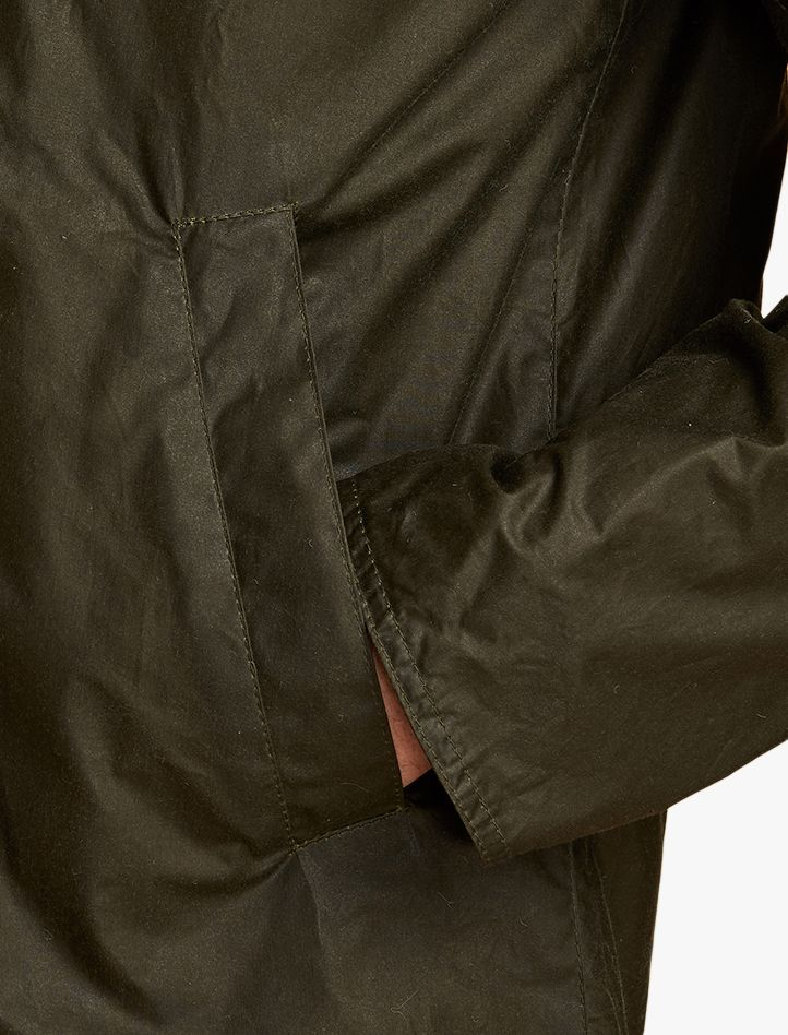 Barbour Lightweight Admiralty Wax Windcheater Archive Olive
