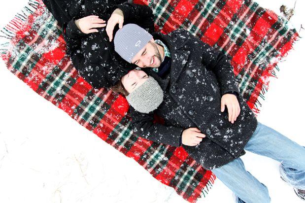 Cute winter photo idea