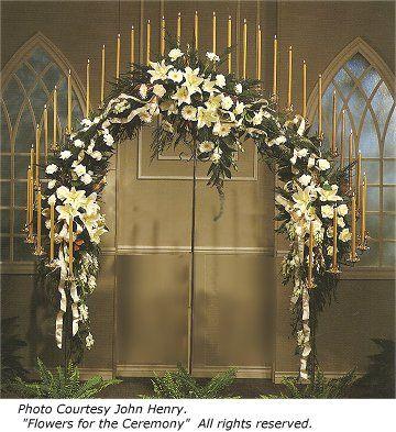 Stunning Church Wedding Decorations