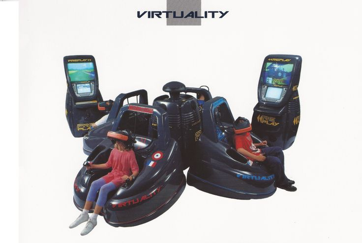 A look back at the doomed virtual reality boom of the 90s - Kill Screen - Videogame Arts & Culture.