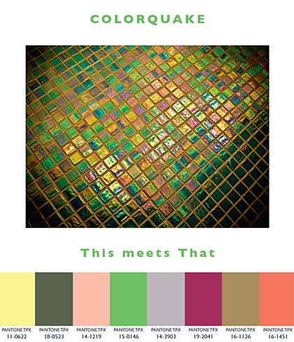 Colorquake – This meets That | Lenzing Spring/Summer 2014 Fashion & Color Trends