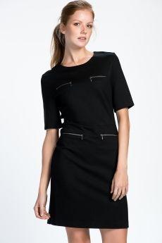 Günlük Elbise Siyah 1