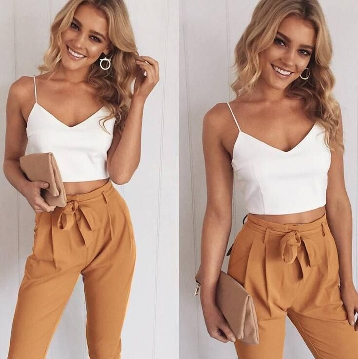 FANCYINN Women Sleeveless Long Jumpsuit Bodycon Party Casual Rompers Pants with Belt