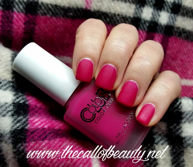 The Call of Beauty: Nail Swatch: Color Club First Base Only