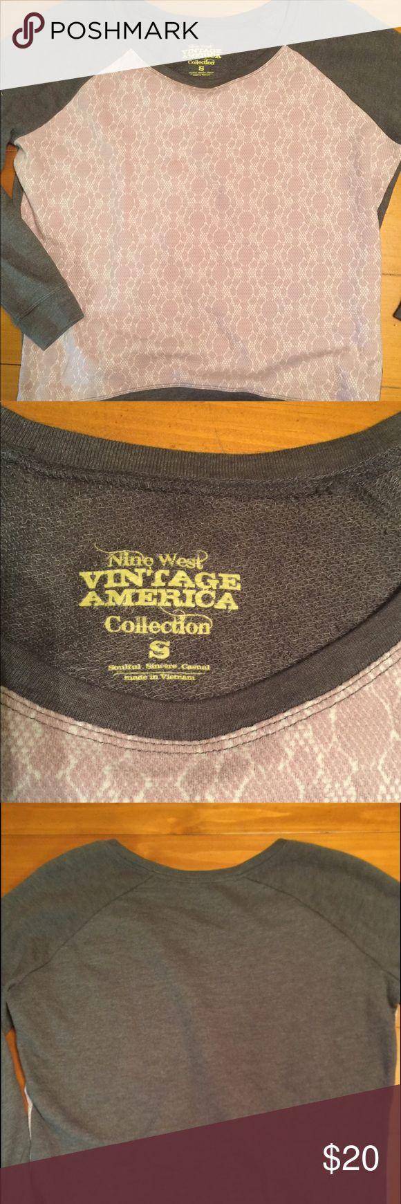 Nine West sweatshirt Nine West vintage designs sweatshirt Nine West Tops Sweatshirts & Hoodies
