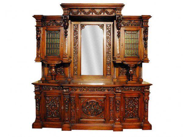 Fresh  Unbelievable LARGE Hutch Cabinet Lot