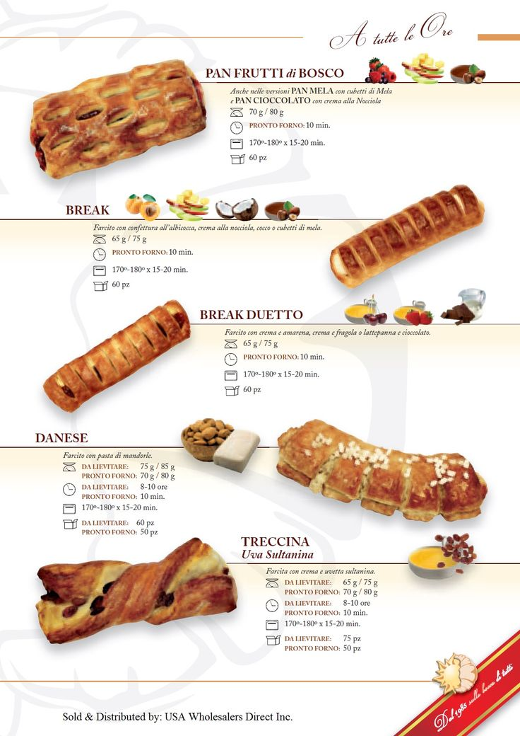 17 Best images about Italian Breakfast Pastries on ...