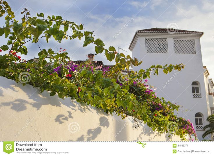 Resort Building With Traditional Andalusian Architecture Of Whit Stock Photo - Image: 84526271