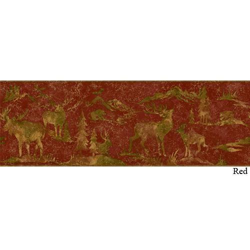 Tin Silhouettes Wallpaper And Border Rockymountaindecor