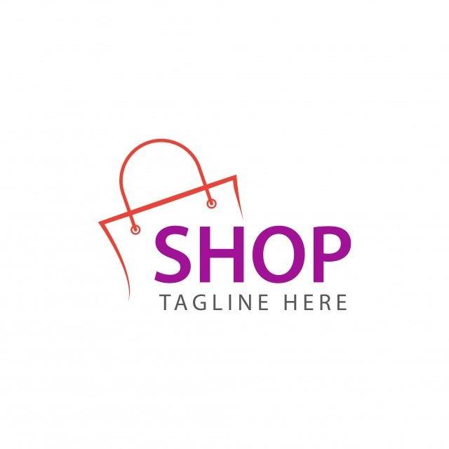 Logo Shopping Shop Online Icon Store Web Sale Business Trade Retail Color Background Modern Market Fashion Template Typo Logo Design Shop Logo Design Shop Logo