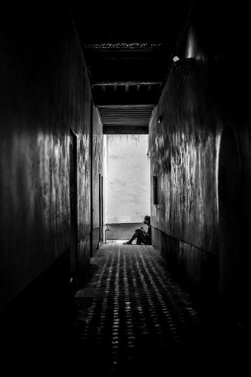 mariogrudnick:    History- or Archeology Student, Ben Yussef Medersa Koran School, Medina, Marrakech, Morocco, Africa, 2012  Photo by Mario Grudnick