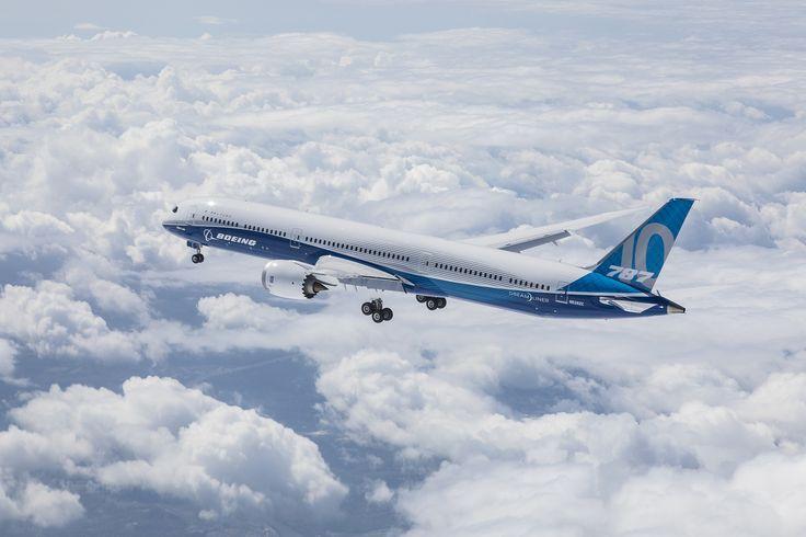 (Video) Boeing 787-10 Dreamliner a operat primul zbor