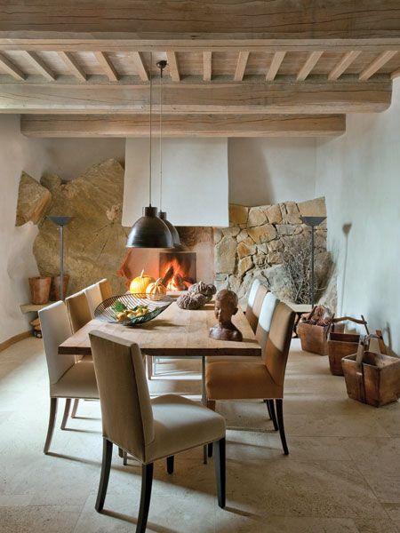 Decoracion Italiana Rustica ~   del Hotel Monteverdi en la Toscana italiana #decoraci?n #rustica