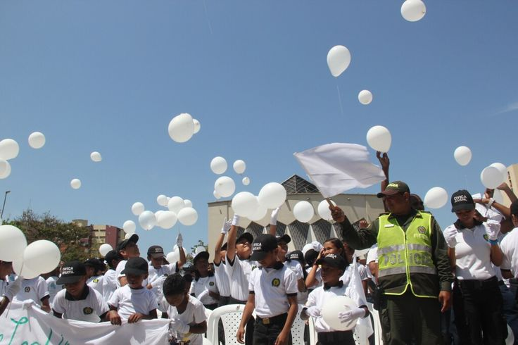 Así protestamos contra la violencia a los niños. #JuntosPorLosNiños