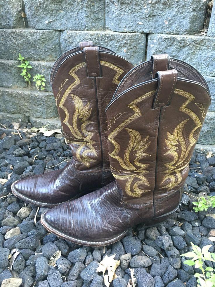 Vintage Justin cowboy boots for sale https://www.etsy.com/listing/398501105/vintage-justin-cowboy-boots-style-8308 #justinboots #cowboyboots #vintageboots