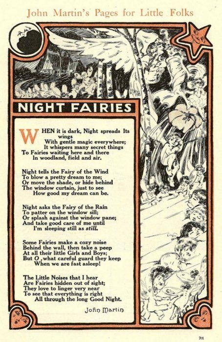 Book of Shadows:  Night Fairies.