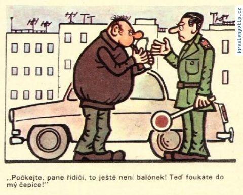 Jiří Winter Neprakta - Počkejte, pane řidiči, to ještě není balónek! Teď foukáte do mý čepice!