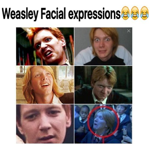 fred and george weasley funny faces - Google Search