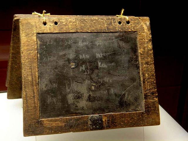 Roaman Writing Tablets Koln with wax & lettering