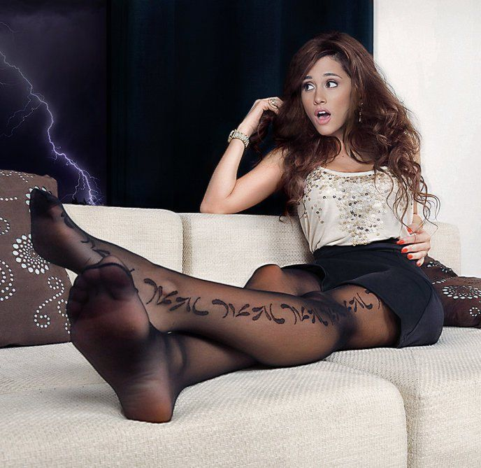 Fusse in nylons