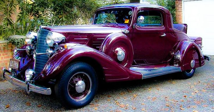 1934 Nash Advanced Eight Coup....classy....