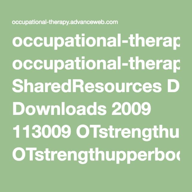 9 best medical necessity letters images on pinterest med school occupational therapyvanceweb sharedresources downloads 2009 113009 otstrengthupperbody9902pdf spiritdancerdesigns Choice Image