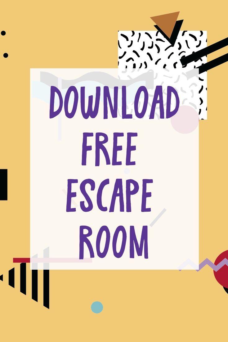 Download Free Escape Room Escape Room Escape Room For Kids Escape Room Diy