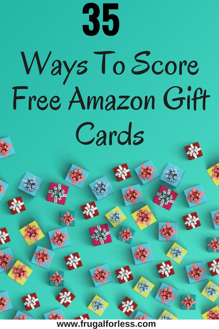 35+ Ways To Get Free Amazon Gift Cards (Updated 2019)   Make