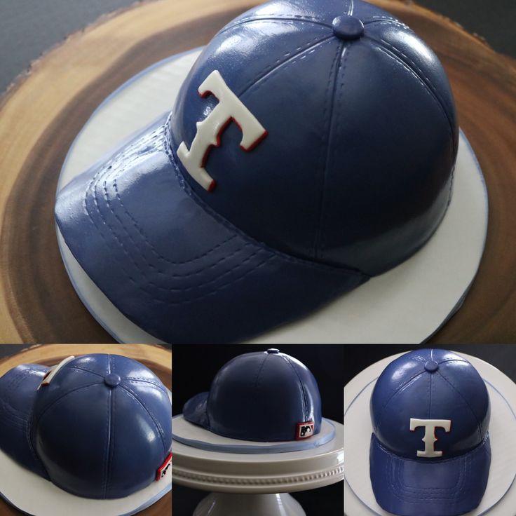 Texas Rangers Hat Cake