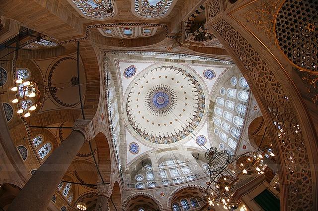 Mimar Sinan - Mihrimah Sultan Camii Edirnekapi Istanbul