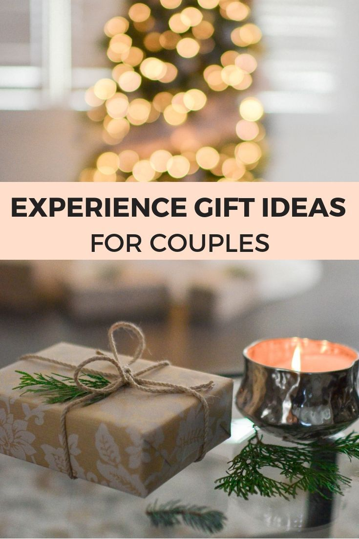 The Best Experience Gift Ideas For Couples Giftideas Giftguides Gifts Your Significant Other That Are Experiences