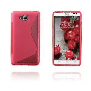 S-Line (Pinkki) LG Optimus L9 II Suojakuori