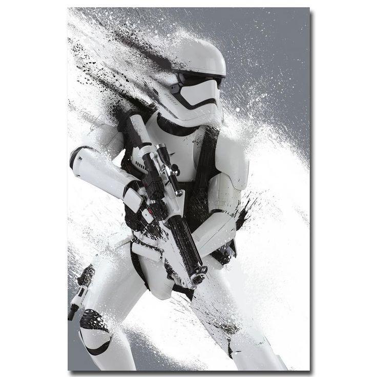 Star Wars The Force Awakens - Stormtrooper Silk Poster