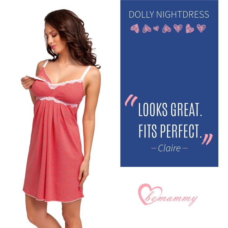 We all need good night sleep <3 BeMammy's Dolly Nightdress will be your favorite. #bemammy #nightwear
