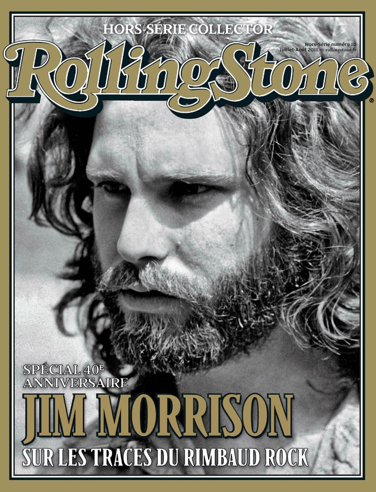 Jim Morrison Rolling Stone Cover   ROLLING STONE