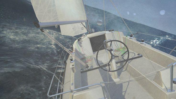 Ocean Going Sailing Simulator