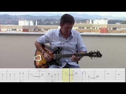 Samba pa ti (cover with tab) - YouTube