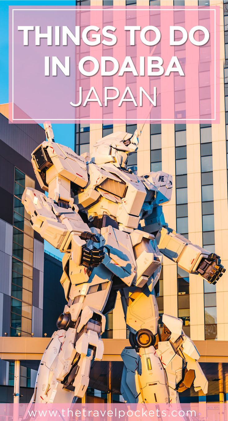 Top 5 things to do in Odaiba, Japan in one day #Japan #Gundam #HelloKitty #Odaiba #Tokyo