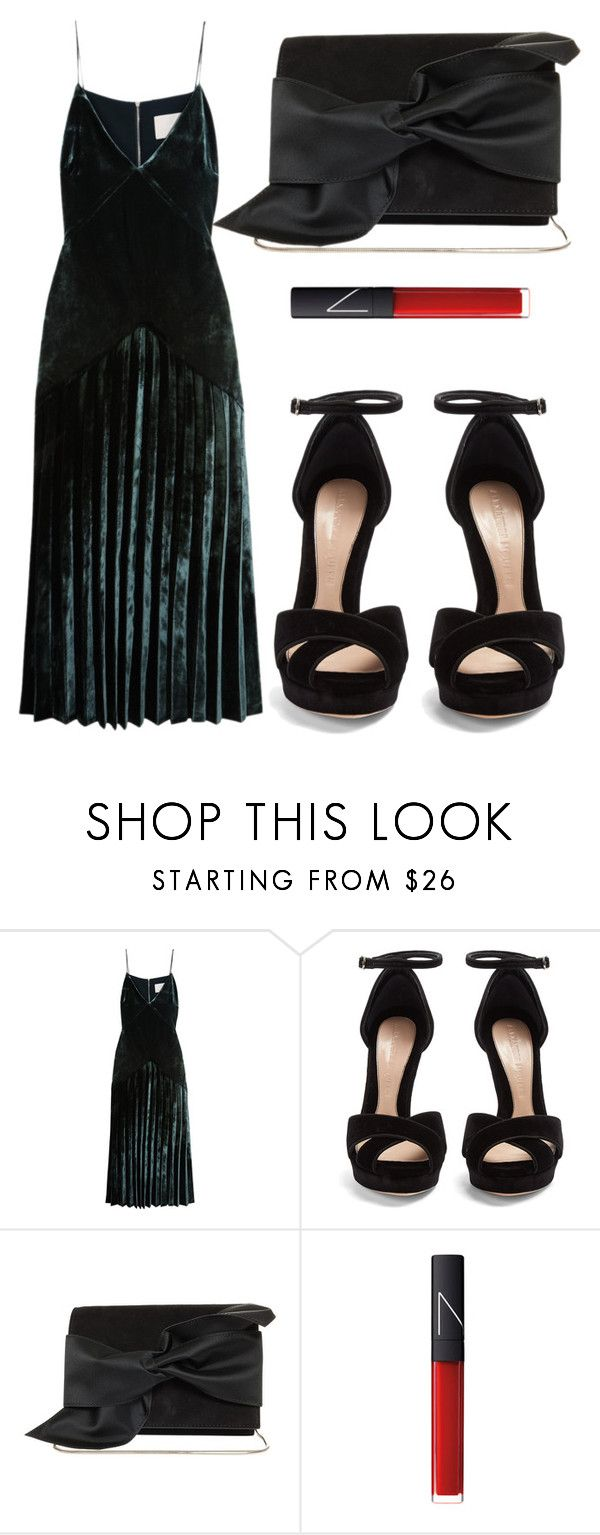 """""""Untitled #4897"""" by beatrizvilar on Polyvore featuring Dion Lee, Alexander McQueen, Victoria Beckham and NARS Cosmetics"""
