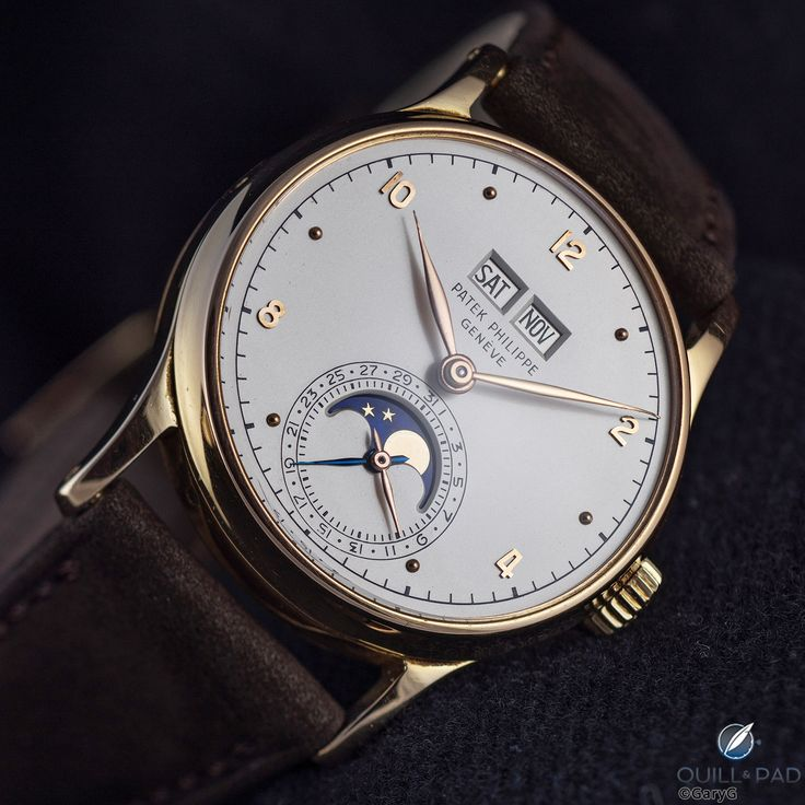 Loved it, researched it, bought it: the author's Patek Philippe Reference 1526 in pink gold
