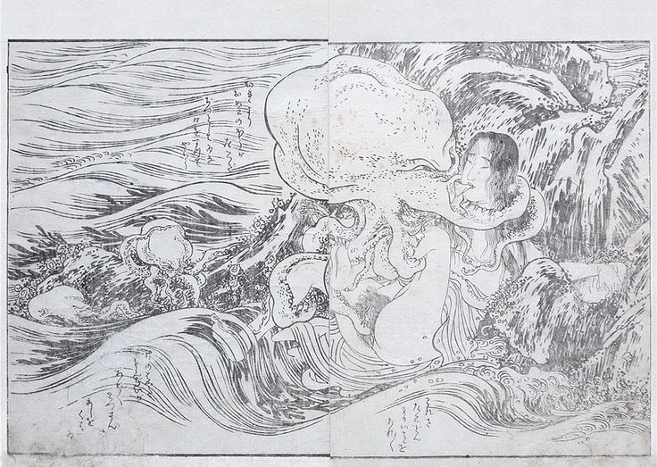 Obscure Precursor of Hokusai's Octopus Image