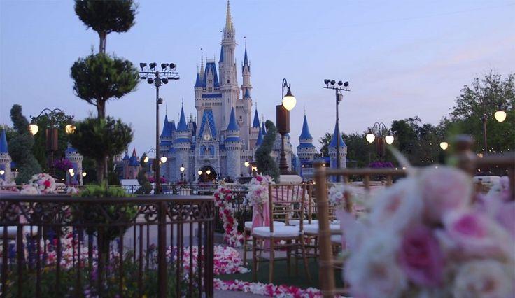 Disney World Now Allowing Castle-Side Nuptials: 35 Disney Wedding Venues Reveale…
