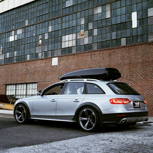 """campallroad: """"These Rotors are looking great on @killerbootsmann's #A4 #allroad 