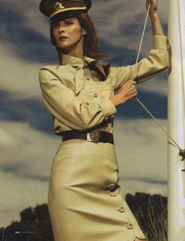 Съёмка: Кармен Касс для российского Elle. Изображение №2.